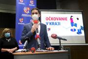 Podpredseda Banskobystrického samosprávneho kraja (BBSK) Ondrej Lunter.