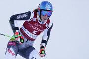Slovenská lyžiarka Petra Vlhová skončila štvrtá.