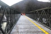 Cez most sa už dá prejsť.