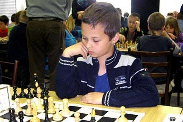 Iba 7-ročný Tomáš Motyčiak príjemne prekvapil na turnaji v Trakoviciach.