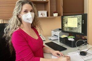 Judita Koprdová je primárka na Gynekologicko-pôrodníckej klinike v novozámockej nemocnici.