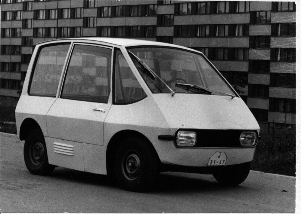 Prvý elektromobil českej výroby Ema 1 existoval už pred 50 rokmi.