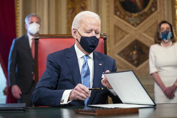 Nový prezident USA Joe Biden.