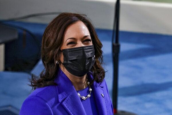Nová americká viceprezidentka Kamala Harrisová.