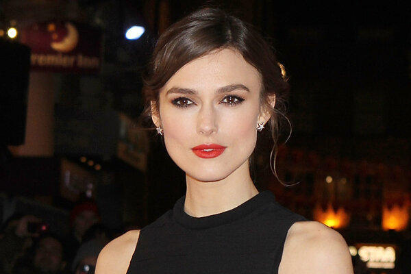 Herečka Keira Knightly.