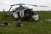 Vrtuľník spadol počas cvičenia na vojenskej leteckej základni v Prešove.
