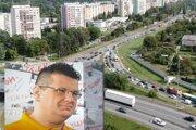 Kontroverzný aktivista Slávik sa zapojil aj do povoľovacieho procesu k modernizácii cesty na Slaneckej.