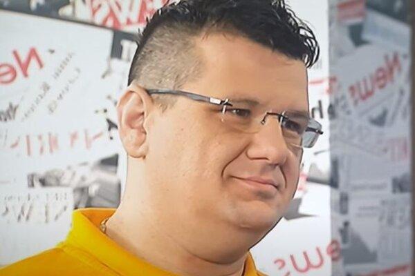 Bratislavský aktivista Marcel Slávik.