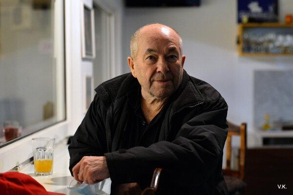 Legendárny ľadár Tibor Vitek.