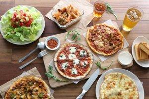 Pizza v najobľúbenejších variáciách