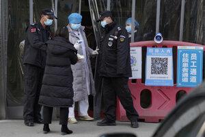 Nemocnica vo Wu-chane.