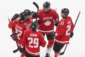 Kanada vs. Rusko, semifinále MS v hokeji do 20 rokov 2021 LIVE dnes.
