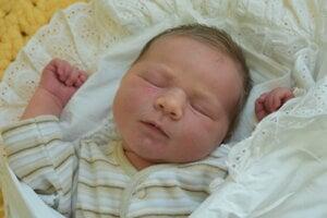Tereza Lešková (3610 g, 49 cm) sa narodila 24. januára Nikole a Jurajovi z Púchova.