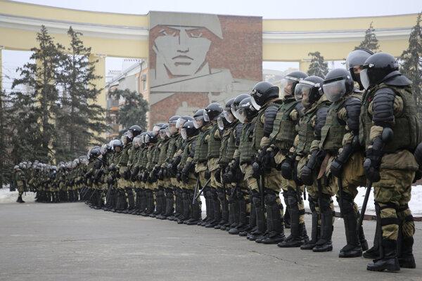Ruskí policajti