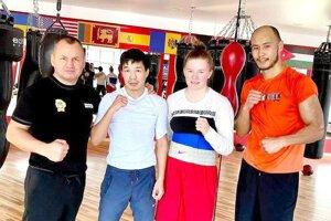 Jessica Triebeľová trénuje na Ukrajine.