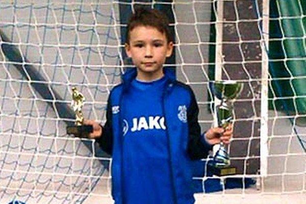 Najlepším hráčom turnaja v Korni bol Adrián Fiala.