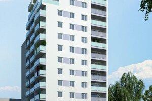 Vizualizáciu projektu, ktorý realizovala Kooperatíva v Košiciach.