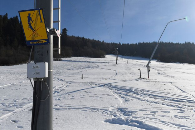 Lyžiarske stredisko Nálepkovo – Krečno.