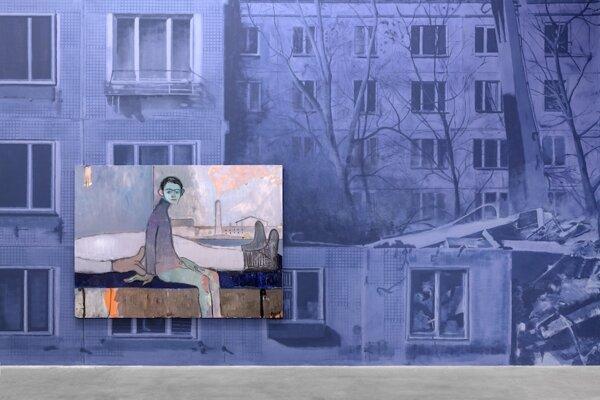 Sanya Kantarovsky- Zobrazenie sídliska Khrushchyovky