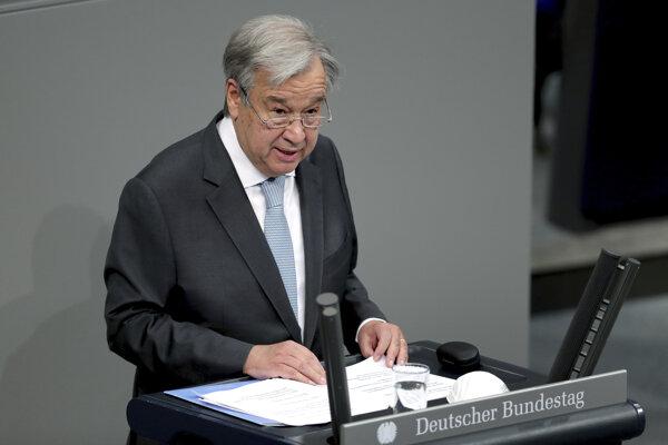 Súčasný generálny tajomník OSN António Guterres.