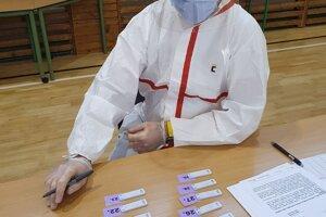 Celoplošné testovanie v Senci (6.-7. február 2021)