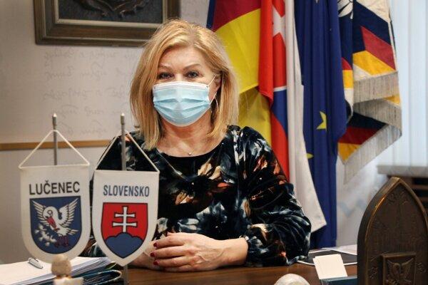 Alexandra Pivková, predsedkyňa OOCR Turistický Novohrad a Podpoľanie, primátorka Lučenca a poslankyňa NR SR.