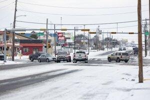 Premávka v texaskom meste Odessa.