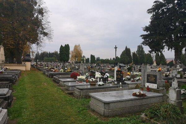 Cintorín v Prešove.