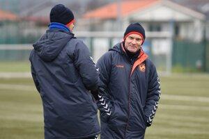 Tréner FK Senica Anton Šoltis.