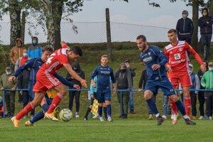 Martin Černek v zápase proti Trenčínu