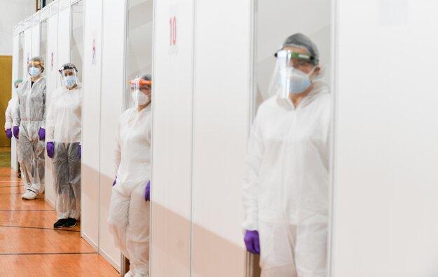 V Trnave od soboty funguje veľkokapacitné očkovacie centrum.