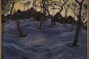 Edmund Gwerk: Zimný večer (1928)