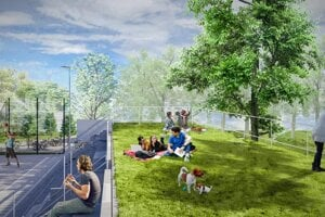 Primátor zverejnil plány s Mestským parkom deň pred rokovaním mestského zastupiteľstva. O týždeň má mať aj stavebné povolenie.