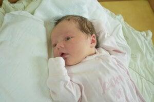 Miriam Vavrová (3500 g, 52 cm) sa narodila 14. februára Helene a Petrovi z Hornej Súče.