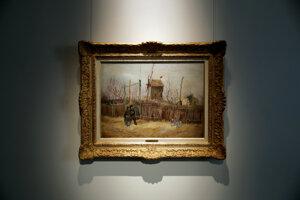 Van Goghov obraz vydražili v Paríži za 13 miliónov eur.