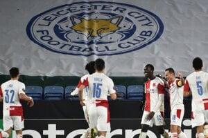 Slavia Praha vyradila Leicester City v Európskej lige.