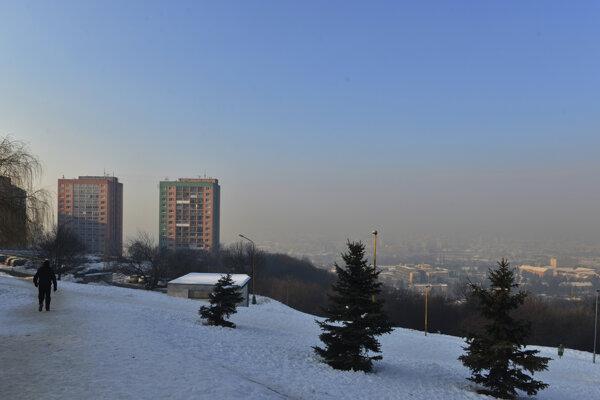 Zvýšený výskyt prachových častíc evidujú aj v Košiciach.
