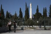 V Aténach pokračuje locdown.