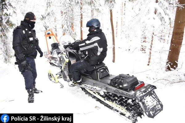 Preventívno-bezpečnostná kontrola v lokalite v Rabčiciach,