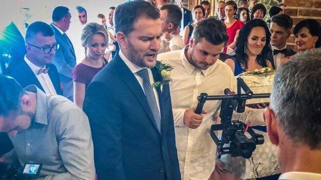 27. august 2020. Na svadbe predsedu poslaneckého klubu OĽaNO Michala Šipoša.