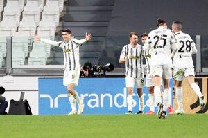 Alvaro Morata z Juventusu Turín.