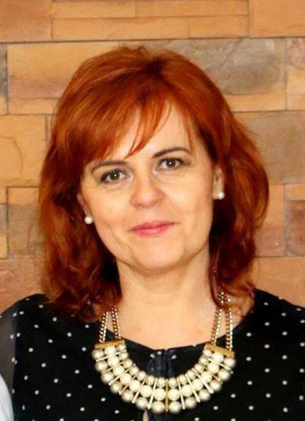 Dana Brezňanová,riaditeľka ZŠ A. Dubčeka vMartine