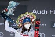Petra Vlhová vyhrala obrovský slalom v Jasnej.