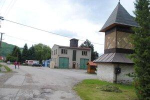 Centrum obce Nižná Slaná.