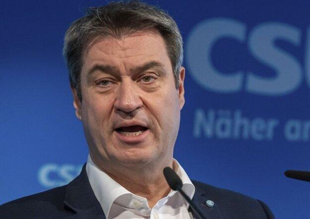 Markus Söder, predseda bavorskej vlády.