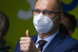 Minister hospodárstva Richard Sulík podal demisiu.