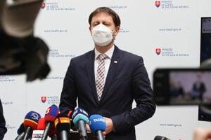 Zastupujúci minister zdravotníctva SR a minister financií SR Eduard Heger.