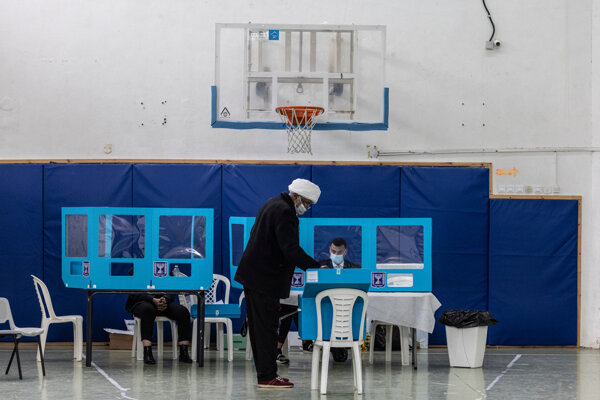Voľby v Izraeli.