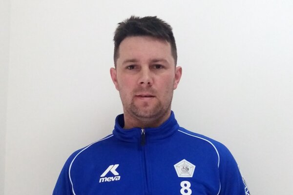 Rudolf Mikula, kapitán TJ Slovan Skalité.
