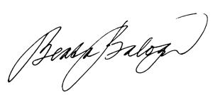 balogová podpis
